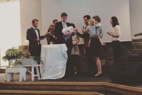 Storsamling med dåp
